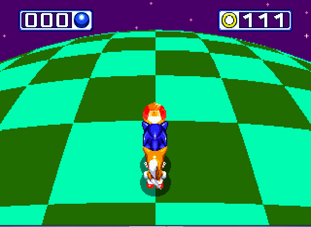 Sonic and Knuckles & Sonic 3 - chaos emerald 2 - User Screenshot